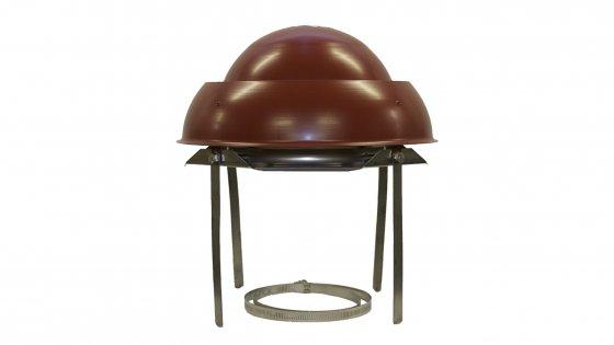 Mini Eurocowl Stainless Steel Terracotta