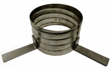 125mm Flexible Liner Suspension Ring (Screw On)
