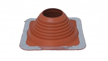 Masterflash Rubber Flashing - Red - No. 4 - 76mm To 152mm Diameter