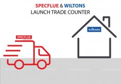 Specflue and Wiltons launch trade counter!