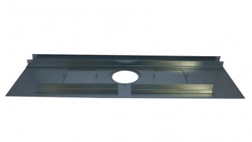 Register Plate - 1066mm x 380mm - With Dual Door and Angles
