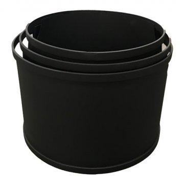 STEEL BUCKET (PACK OF 3)