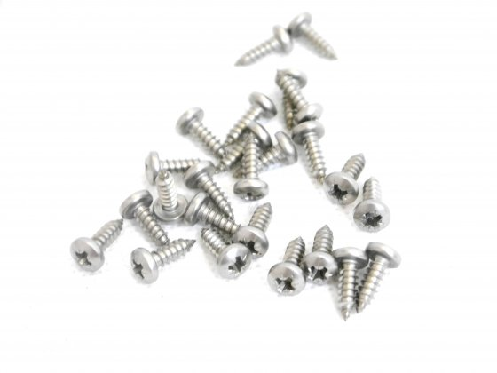 Self Tapping Screws (25) - Stainless Steel