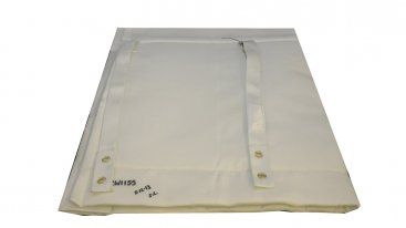 Chimwrap Insulation - 125mm To 155mm Diameter - 1 Metre Length Complete With Fixings