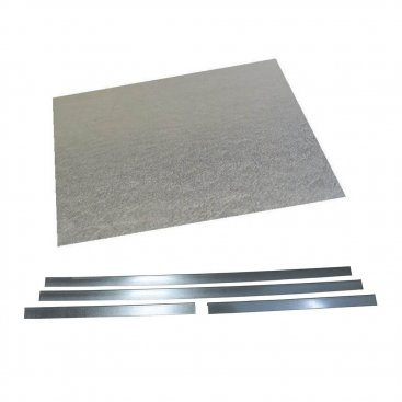 Register Plate Plain 1250x833mm With Angles