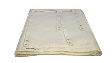 Chimwrap Insulation - 180mm To 200mm Diameter - 2 Metre Length Complete With Fixings