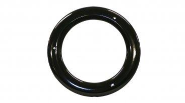 Gloss Black Vitreous Enamel 150mm Diameter Ceiling Trim Ring