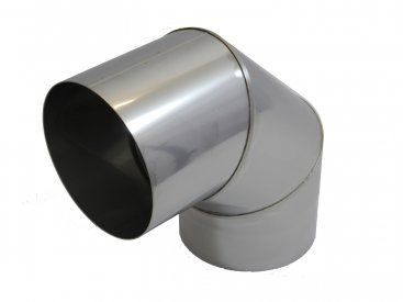 Prima Smooth 150mm Diameter 90 Degree Fixed Bend