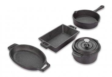 Miniature Cast Iron Cookware Set (FIRE554)