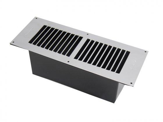 Chrome Floor Ventilator (Stadium)