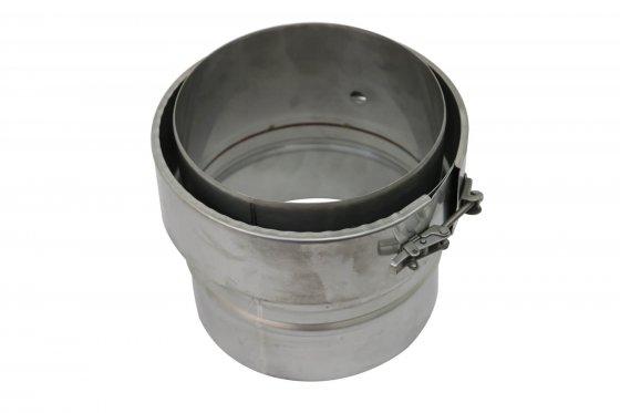 100mm Supra Plus Teecap With Offset Drain