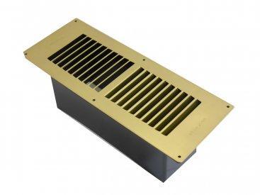 Brass Floor Ventilator (Stadium)