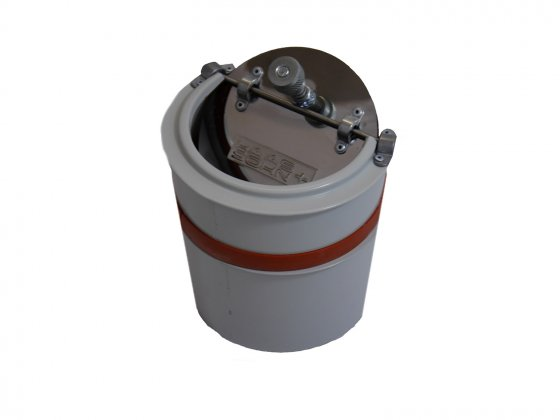 Haas And Sohn Energy Draught Regulator With Explosion Relief - 150mm Diameter