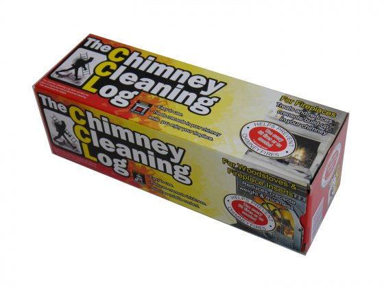 Chimney Cleaning Log (Buy 8 or more for £8.74 each)