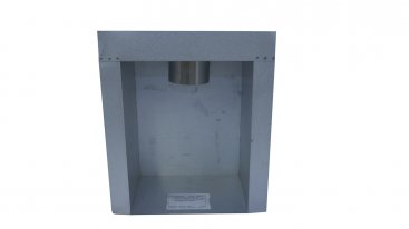 Rite Vent Flue Box Valor Single Wall Skin With 125mm Gas Flex Spigot