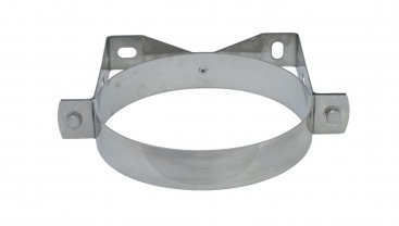 100mm Supra Plus Stainless Steel Wall Band
