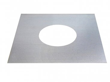 100mm Top Plate For Multi Fuel Flexible Liner