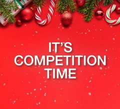 IT'S COMPETITION TIME…
