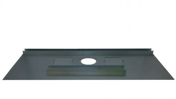 Register Plate - 1230mm x 600mm - With Dual Door and Angles