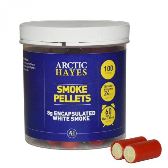 Smoke Pellets 8gm Tube Of 100