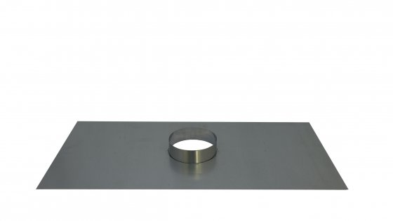 Register Plate With 158mm Diameter Collar - 450mm x 900mm
