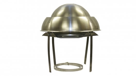 Mini Eurocowl - Stainless Steel
