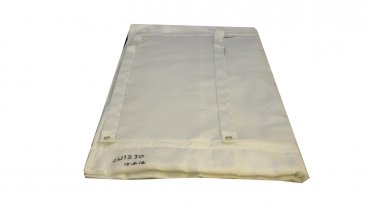 Chimwrap Insulation - 125mm To 155mm Diameter - 2 Metre Length Complete With Fixings