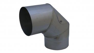 Prima Smooth 150mm Diameter 90 Degree Fixed Bend With Door