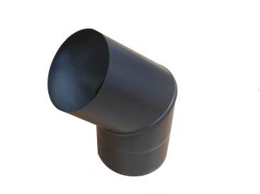 Sigma Black 100mm Diameter 45 Degree Bend