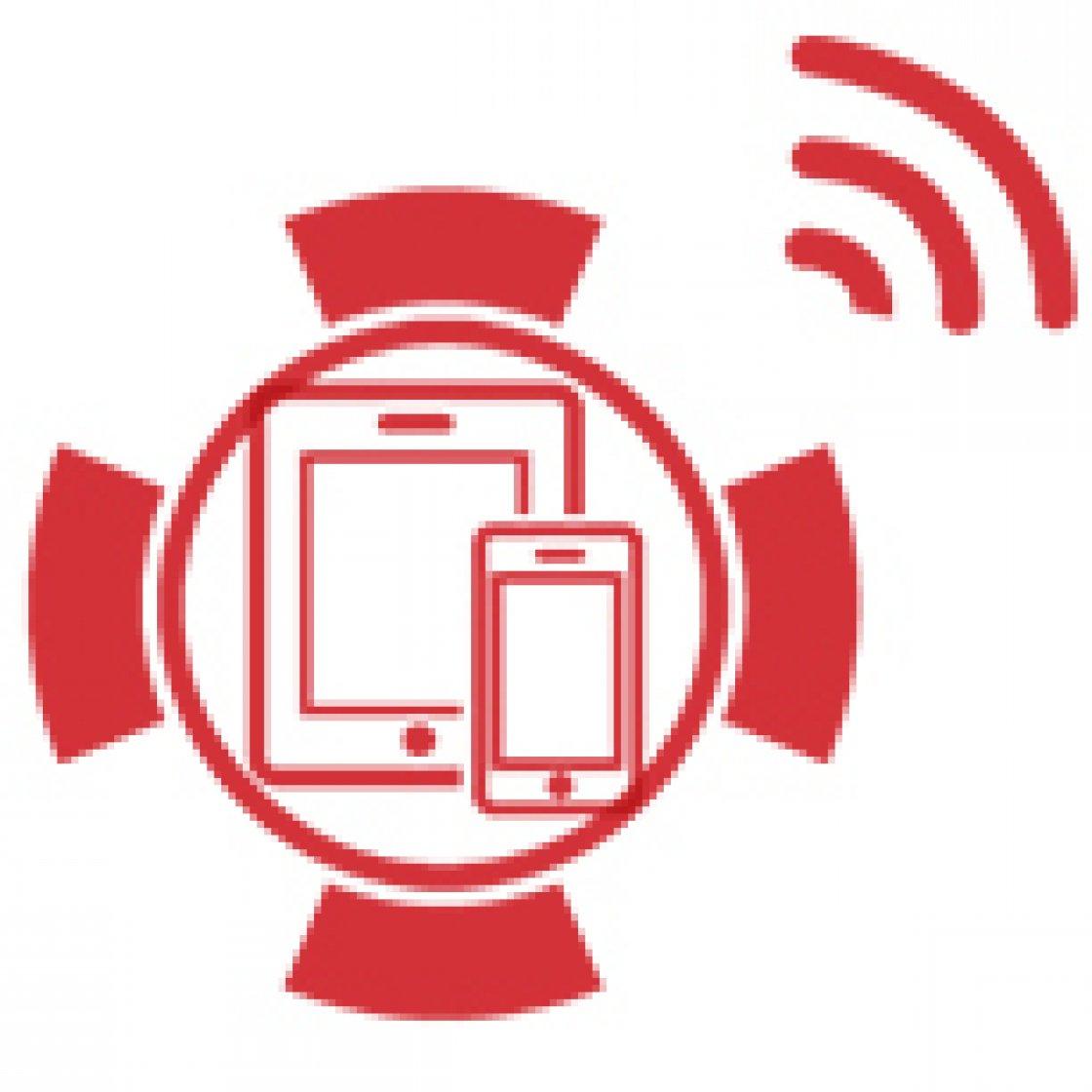 Control via Smartphone or Tablet